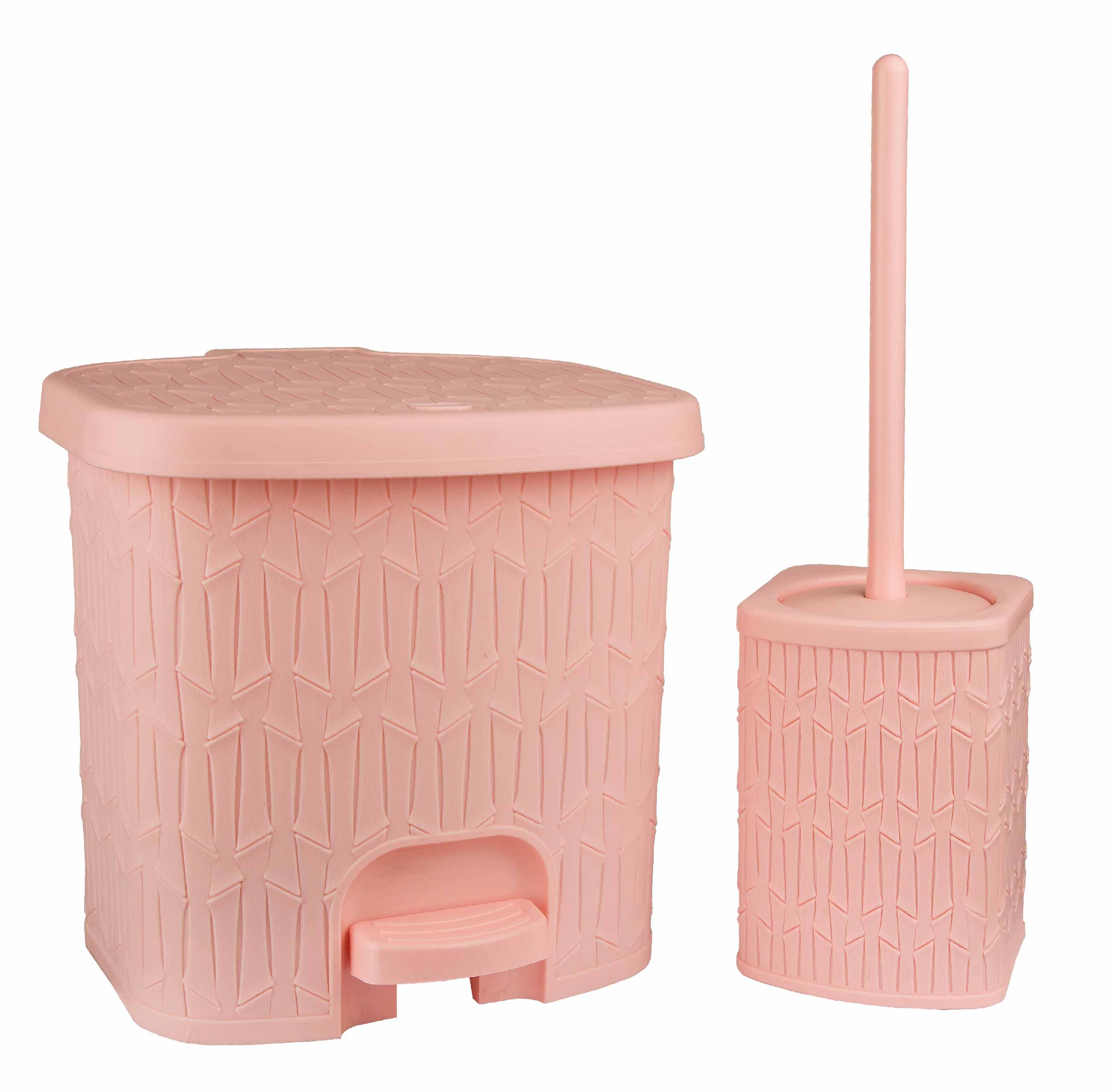 سطل و فرچه طرح بامبو کوچک